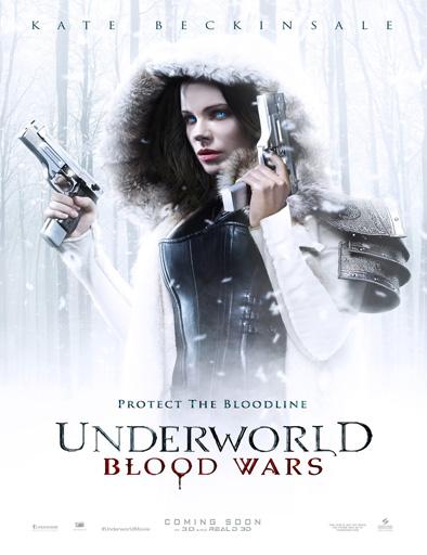 Poster de Underworld 5 (Inframundo 5: Guerras de Sangre)