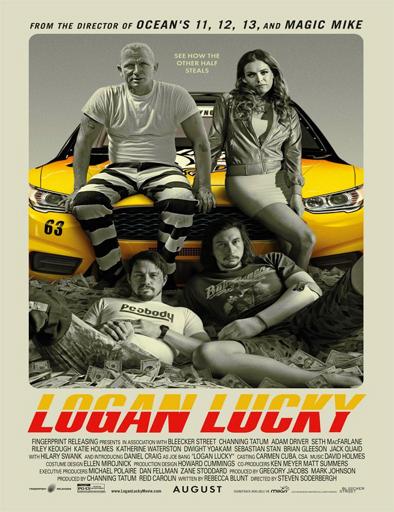 Poster de Logan Lucky (La suerte de los Logan)