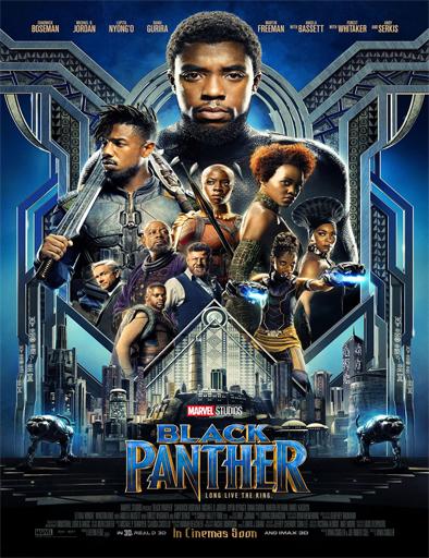 Poster de Black Panther (Pantera Negra)