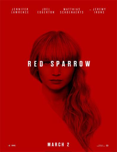 Poster de Operación Red Sparrow