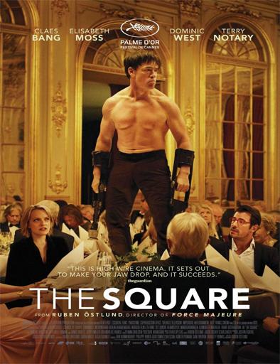 Poster de The Square, la farsa del arte