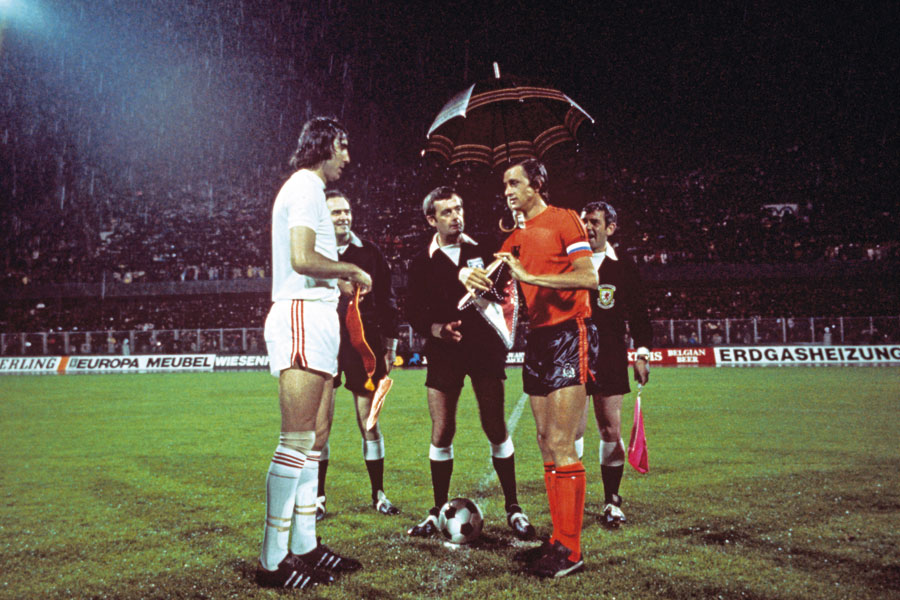 Euro '76 Semi-Final, June 16, 1976. Czechoslovakia v Netherlands, Maksimir Stadium, Zagreb (footballarchive.tmbler.com)