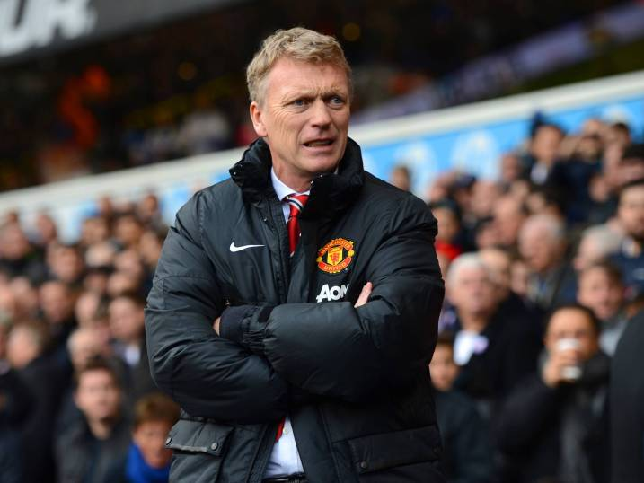 David Moyes - his usual look these days