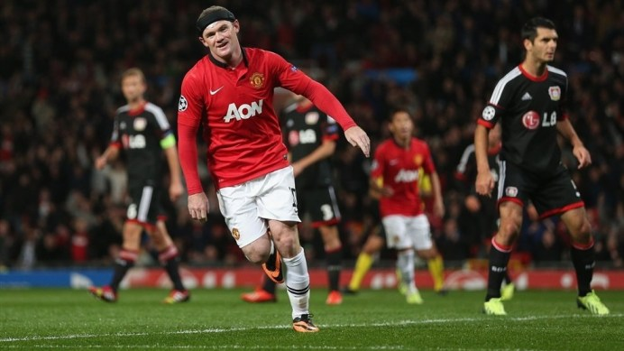 Wayne Rooney : Most number of assists in Champions League this year