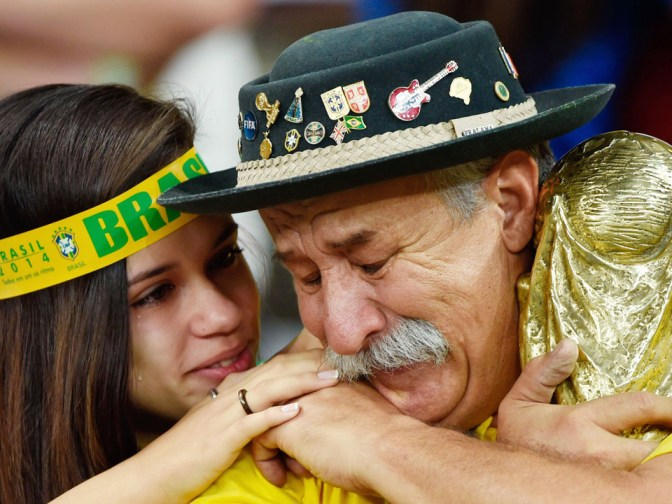 Clovis Acosta Fernandes, after Brazil's defeat against Germany