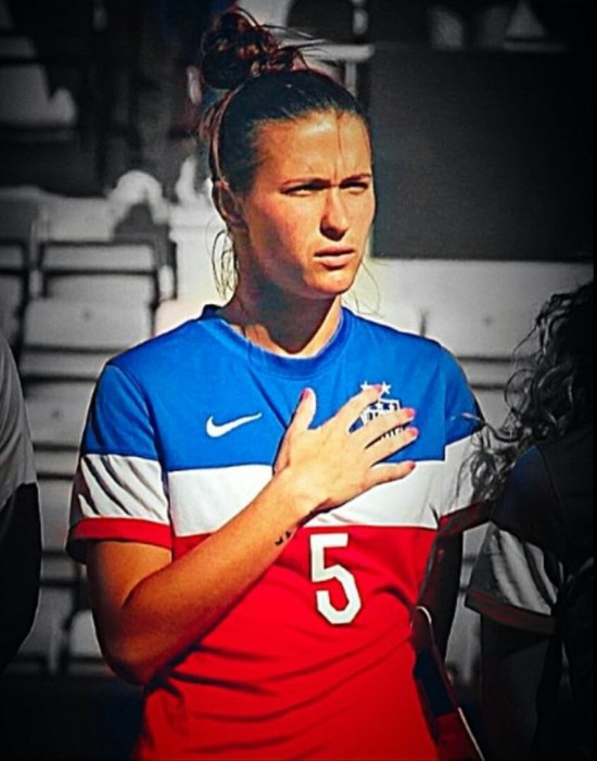 31st May, 2015, Carson Pickett was named in the starting XI against England