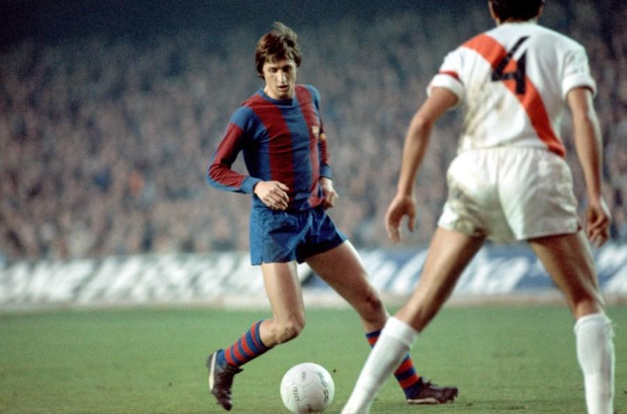 Barcelona 76-77 Road Johan Cruyff