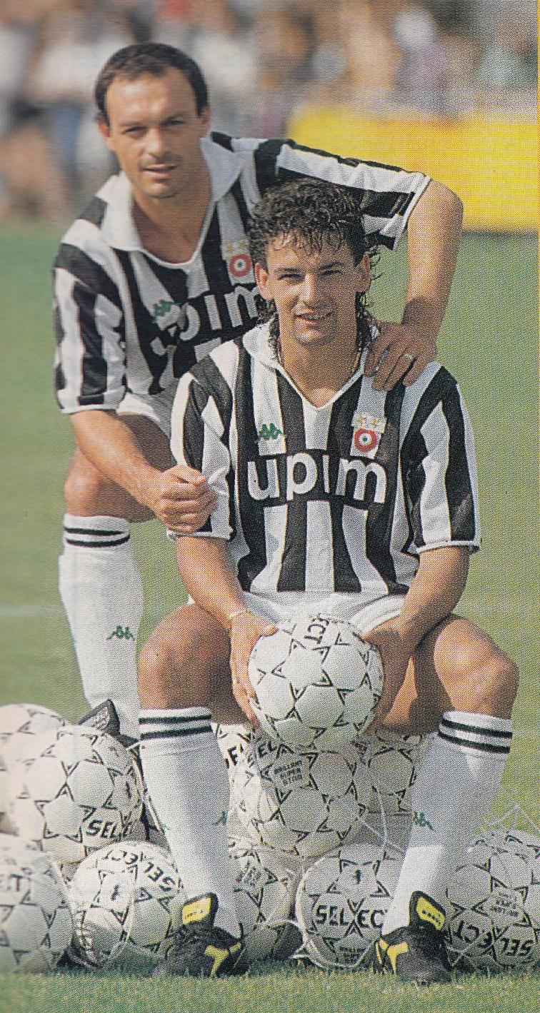Schillaci_e_Baggio,_1990