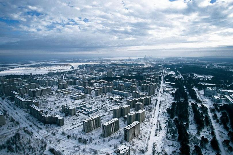 Ghost city Pripyat. [Source : The Guardian]