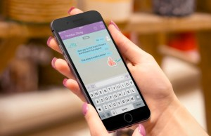 Now Viber allows you to message at lightening speed