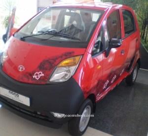 Tata Nano Valentines Edition 2