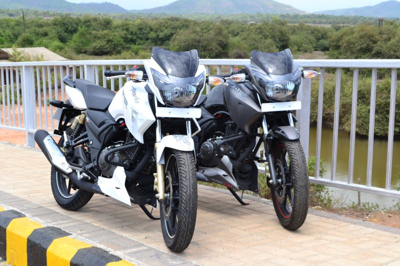 New TVS Apache 2012 Series Ridden - Complete Review