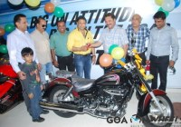 Hyosung Aquila 250 launch in Goa