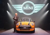 04c Mr Philipp von Sahr, President, BMW Group India with the new MINI