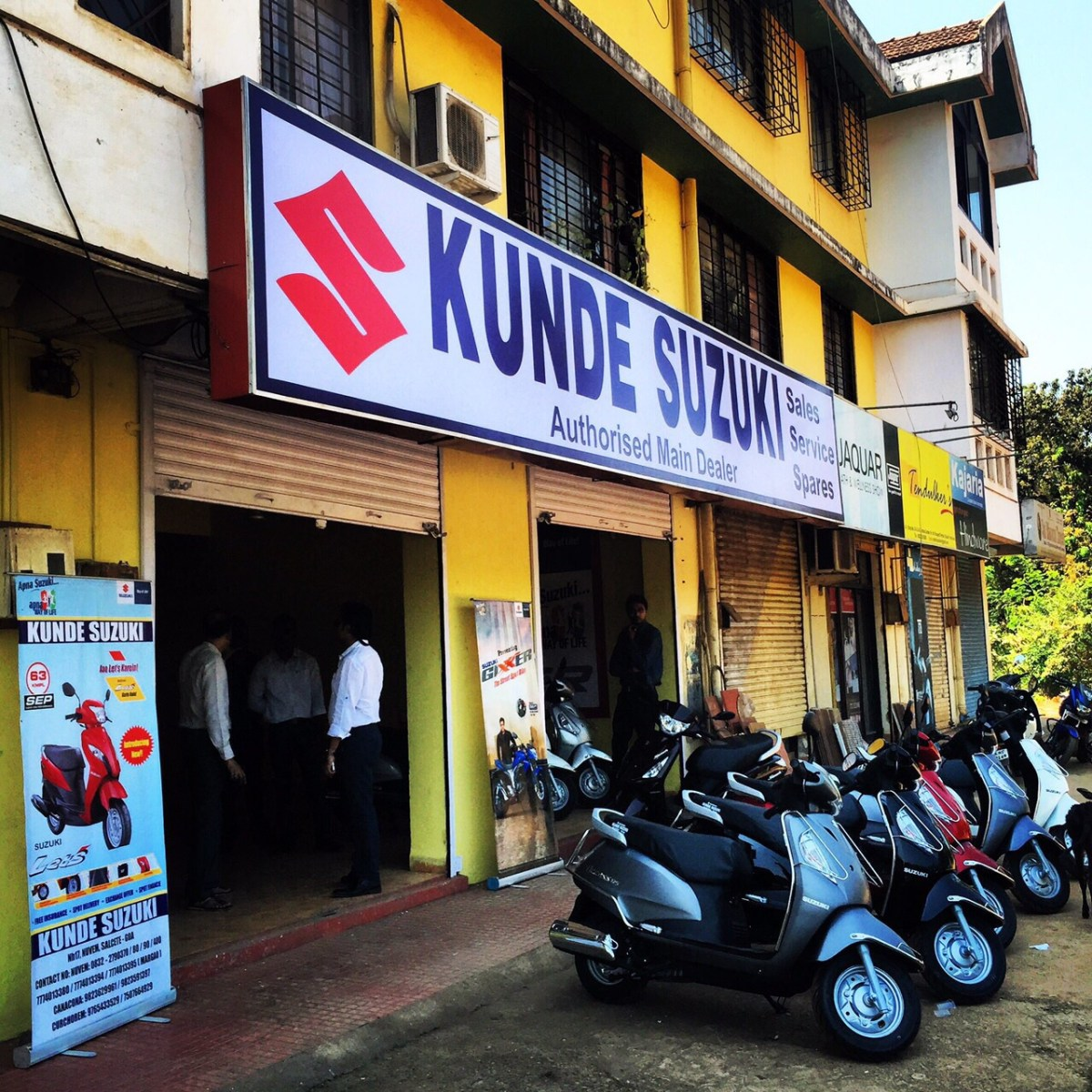 Kunde Suzuki expands network, opens outlet In Ponda
