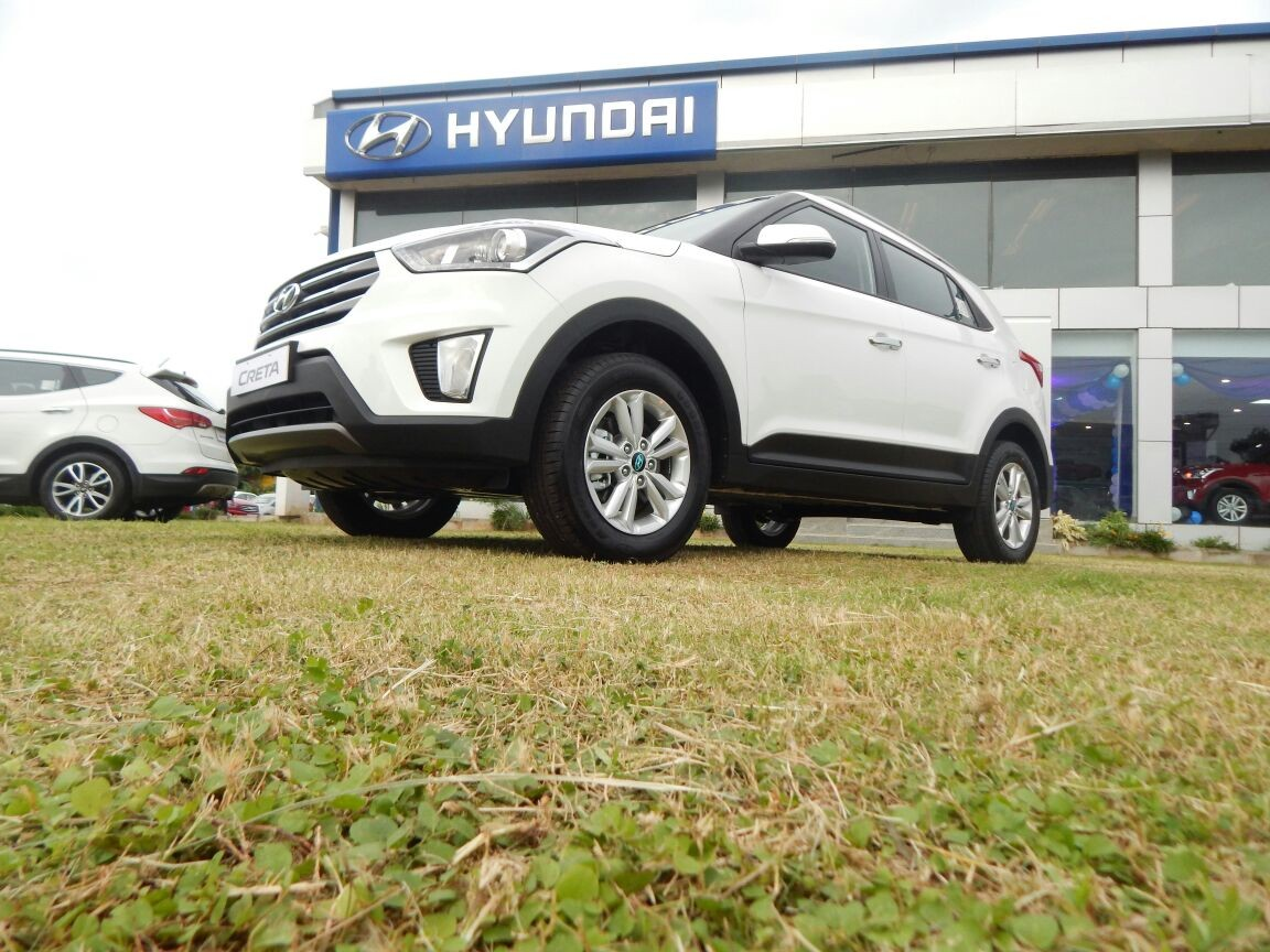 Hyundai Creta S+ diesel & SX+ Petrol automatic launched in Goa