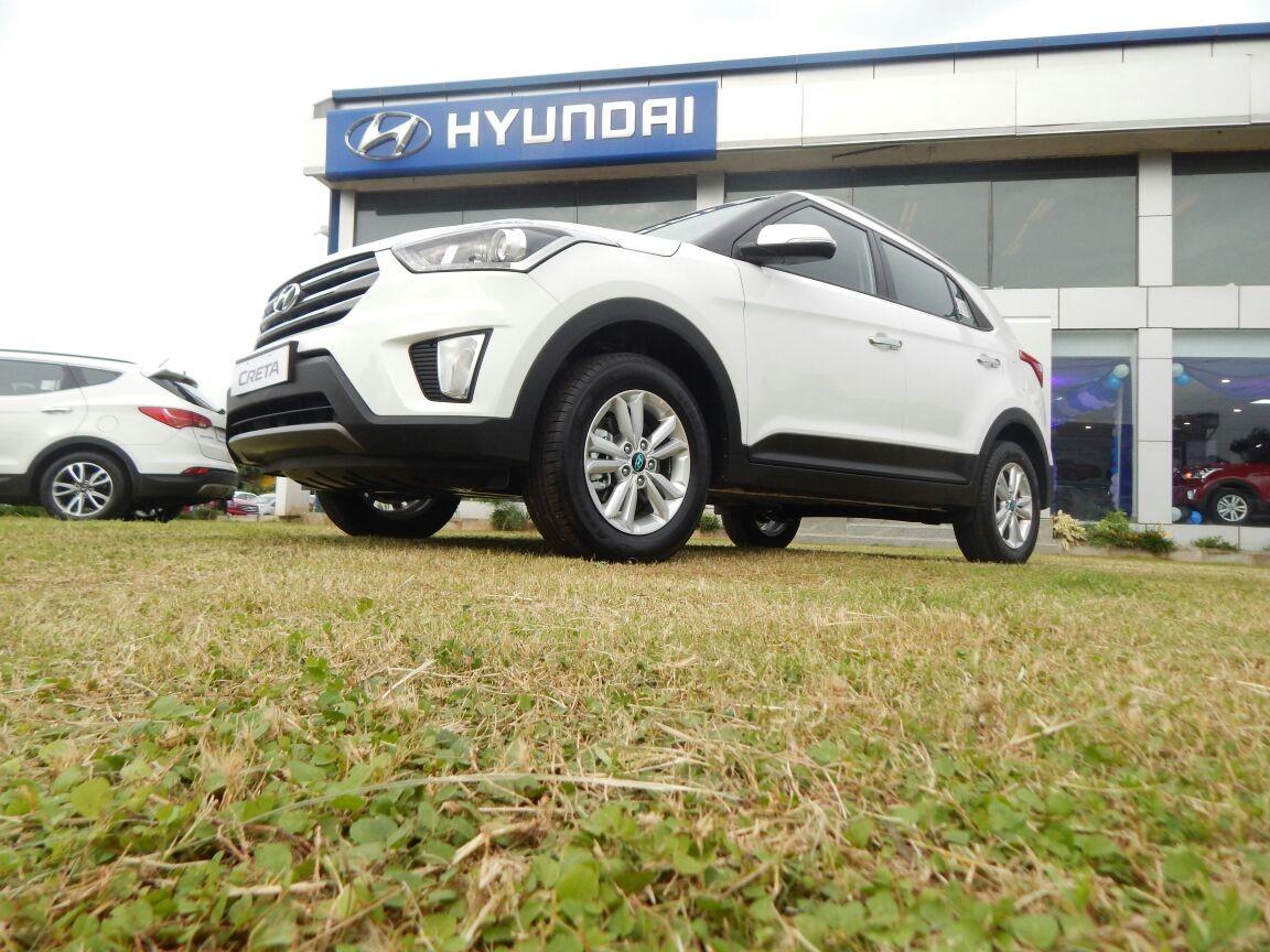 Hyundai Creta S+ diesel & SX+ Petrol automatic launched in Goa