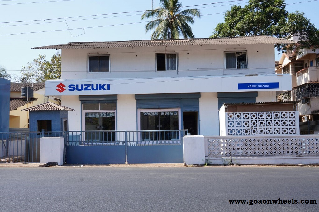 Suzuki opens new two wheeler dealership in Porvorim, Karpe Suzuki