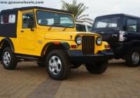 Mahindra Thar yellow color (2)