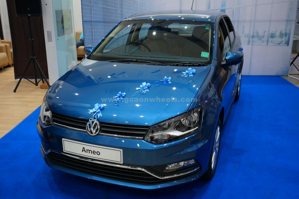 Volkswagen India Commences Deliveries Of The Ameo