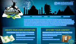 Create Your Own Adventure contest