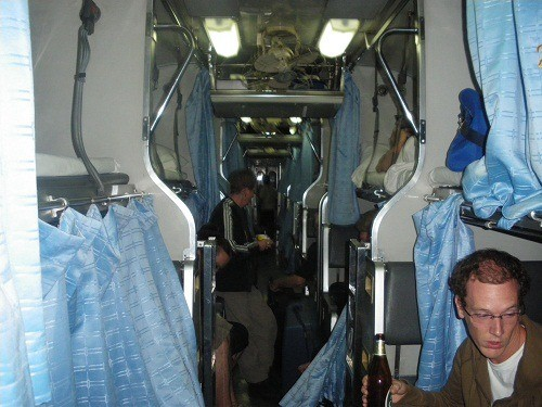 Overnight train in Vietnam