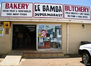 Supermarket in South Africa