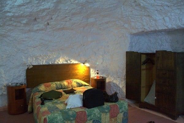 underground motel room