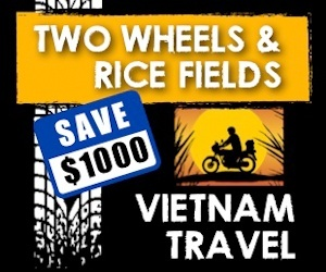 Two Wheels and Rice Fields