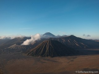 Mount Bromo: Waking for Sunrise, and Hiking the Crater