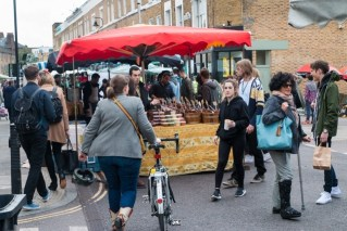 London's Saturday Broadway Market