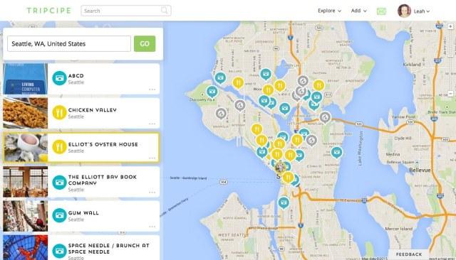Seattle Map on Tripcipe