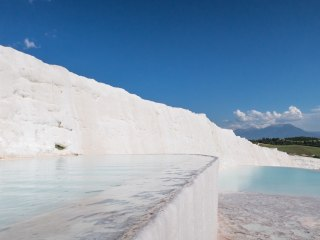 Pamukkale terraced pools
