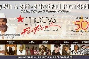 Macy's Music Festival 2012