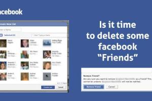 Remove FB Friends
