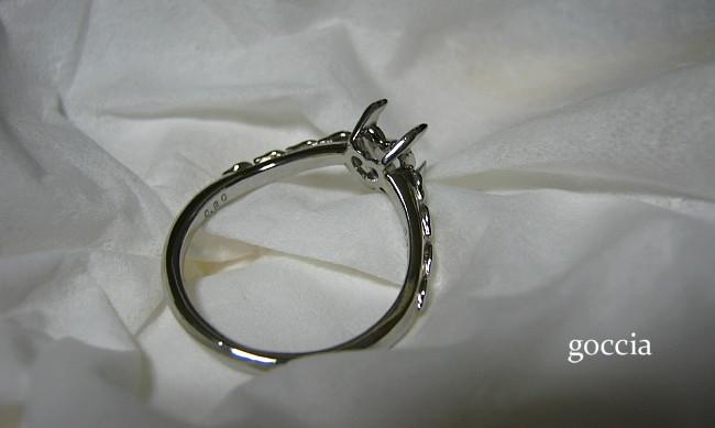 婚約指輪・仕上げ