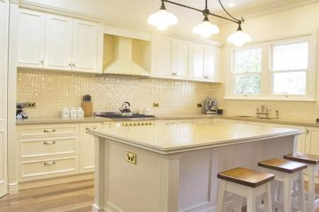 clic traditional kitchen design.