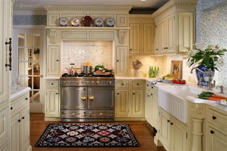 traditional kitchen cabinets design 2014