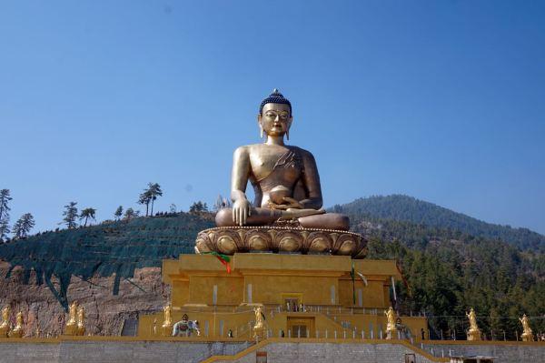 Buddha point bhutan