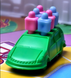 full car closeup, game of life