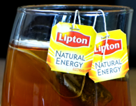 lipton iced tea + knorr + best foods hellman as a complete meal