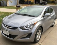 my review of the 2015 hyundai elantra rental from hertz