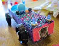 build a car, winning design, my daughter, noco maker faire
