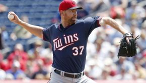 Minnesota Twins Mike Pelfrey