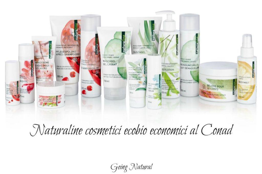 Naturaline : i cosmetici ecobio economici del Conad