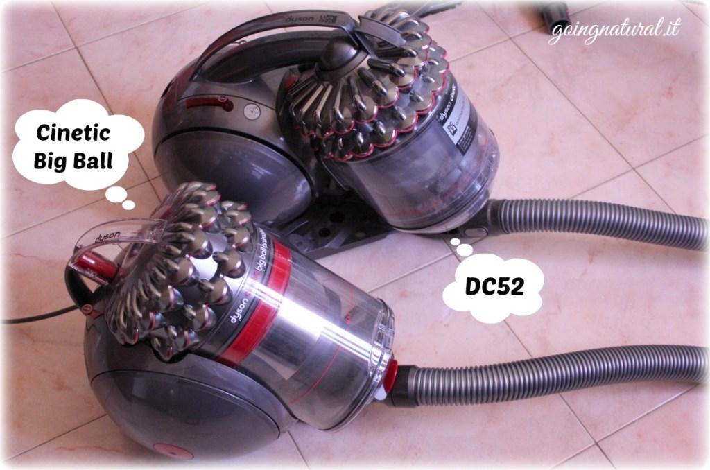 Dyson Cinetic Big Ball vs Dyson DC52 & offerta per voi!