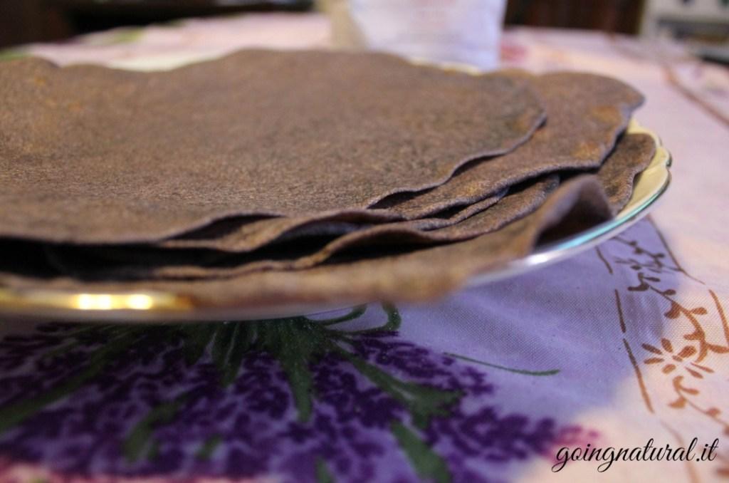 Piadina senza strutto con farina di riso venere: sana, buona e veloce