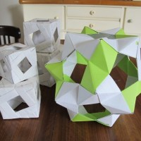 Phizz-Ball, Modulares Origami, Upcycling, Recycling, Basteln. Papier, Selbermachen