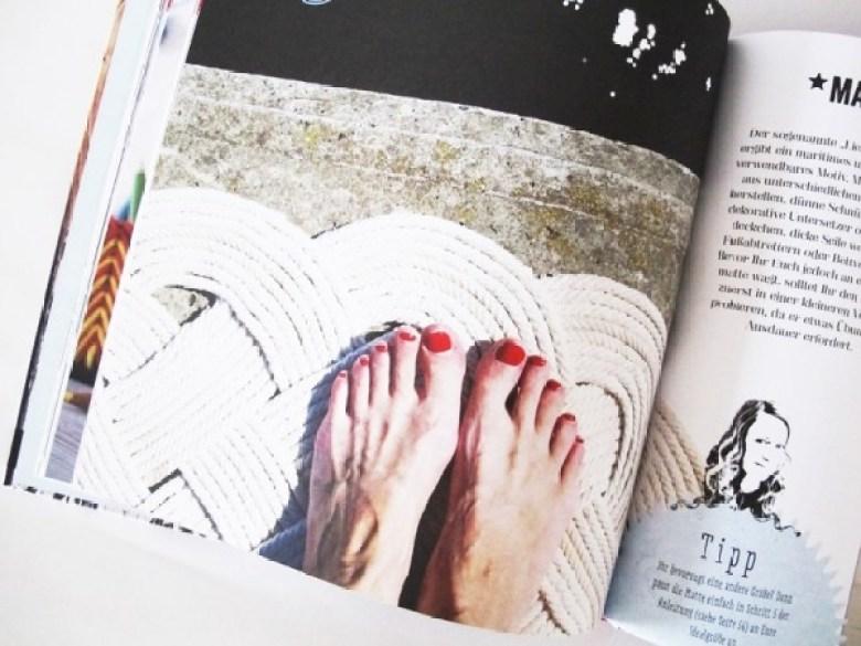 Upcycling mit Nähmarie, Buch, Upcycling, Ideen, Basteln, Nähen, Bastelbuch, Fußmatte
