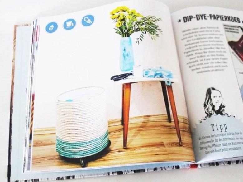 Upcycling mit Nähmarie, Buch, Upcycling, Ideen, Basteln, Nähen, Bastelbuch, Papierkorb